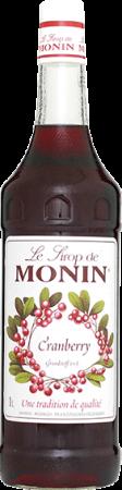 73929_Monin Sirup Cranberry_100 cl
