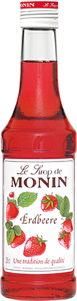 74407_Monin Sirup Erdbeere_25 cl