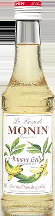 74420_Monin Sirup Banane gelb_25 cl