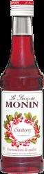 74429_Monin Sirup Cranberry_25 cl
