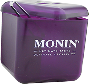 74BO2_Monin Profi Eisbox violett Kunststoff isoliert
