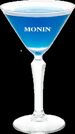 Blue Curaçao Sugar Martini
