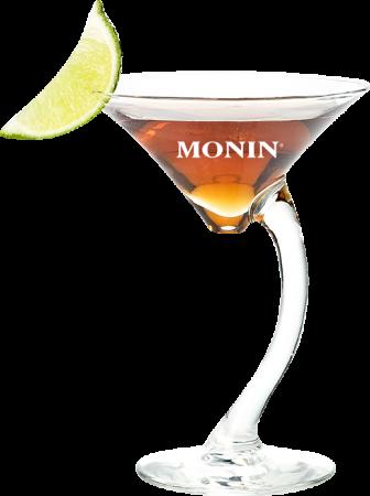 Cacao-Pfirsich Martini