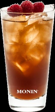 Himbeer-Basilikum Gin-Tee