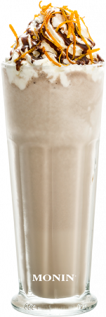Milk-Choco-Orange Frappé