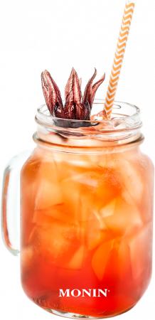 Orange Spritz Hibiscus Mocktail