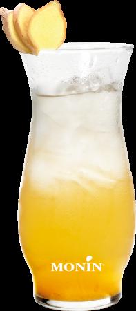 Pineapple Ginger Shaken Tea