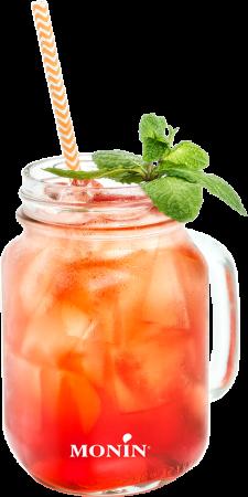 Rhubarb Jam Jar Mocktail